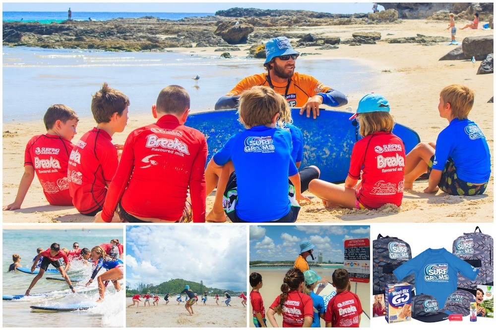 Learn to Surf at the beautiful Currumbin Alley!