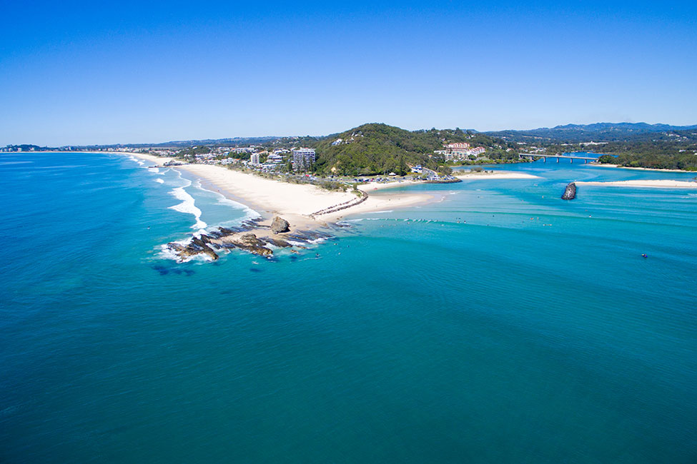 Currumbin Alley Location - Surfing Services