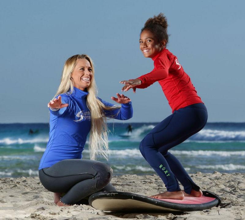 Learn to surf Currumbin