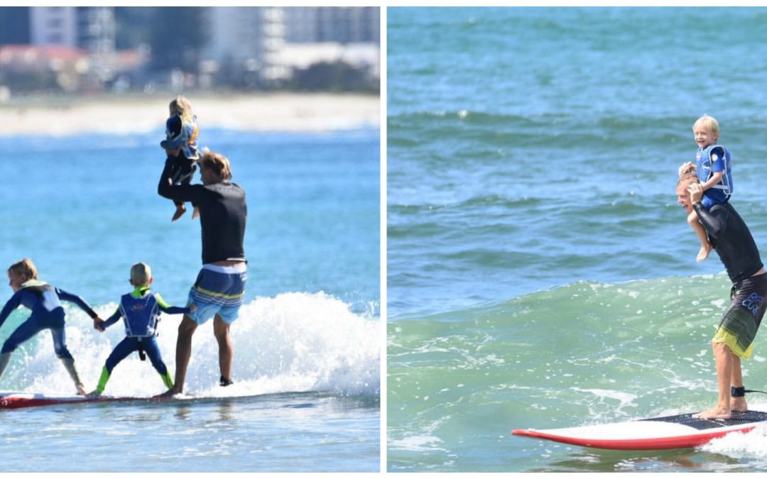 Father's day – Family surfs for FREE!