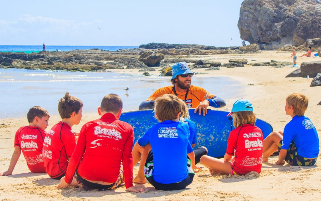 Why not learn to surf these Christmas Holidays?